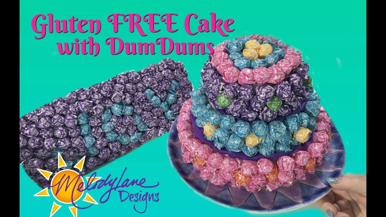 Gluten-Free Cake Made With DumDums Lollipops - Fun Party Decor - YouTube