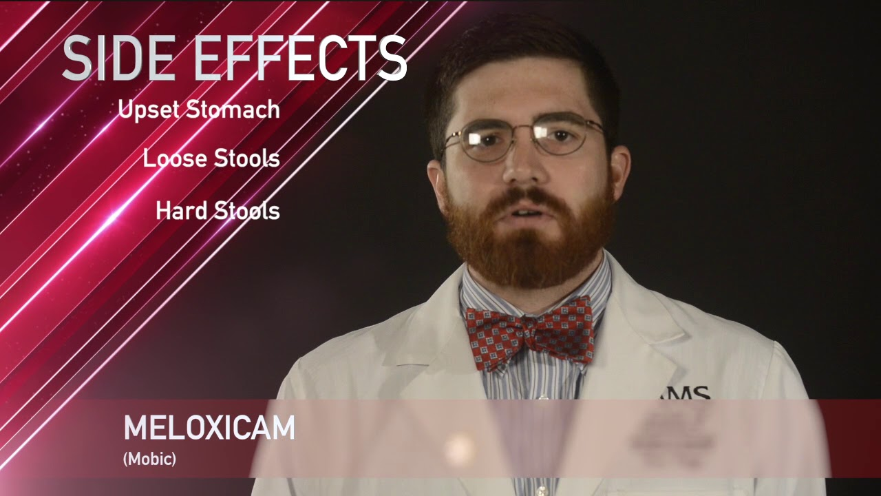 What are side effects of mobic