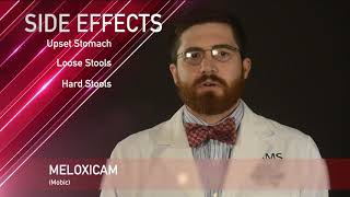 Meloxicam or Mobic Medication Information (dosing, side effects, patient counseling)