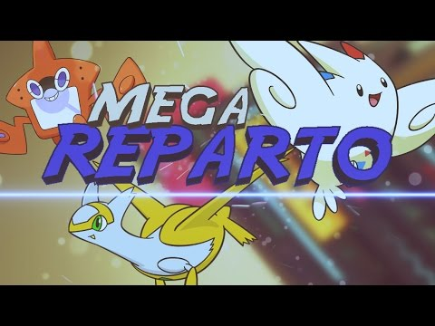 MEGA REPARTO COMPETITIVO/GTS GIVEAWAY