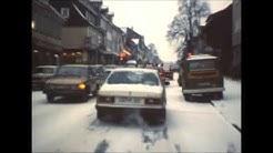 Clausthal-Zellerfeld im Winter 1976/77