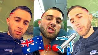 TAREK part en AUSTRALIE pour le TOURNAGE de sa NOUVELLE ÉMISSION avec NABILLA et THOMAS