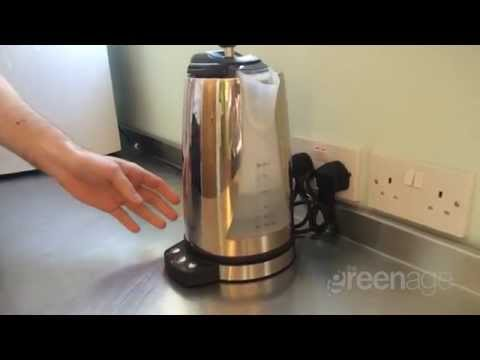Using the EcoLogyk Energy Saving Kettle