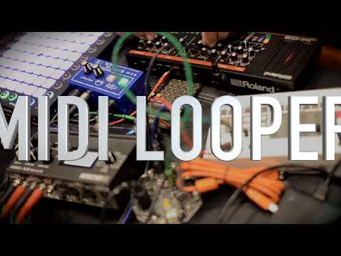 Midi Looper the smallest coolest jamming box | JX-03 Launchpad PO and volca