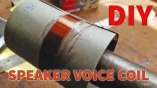 How to Make a Voice Coil in 3 minutes | UHD 4K