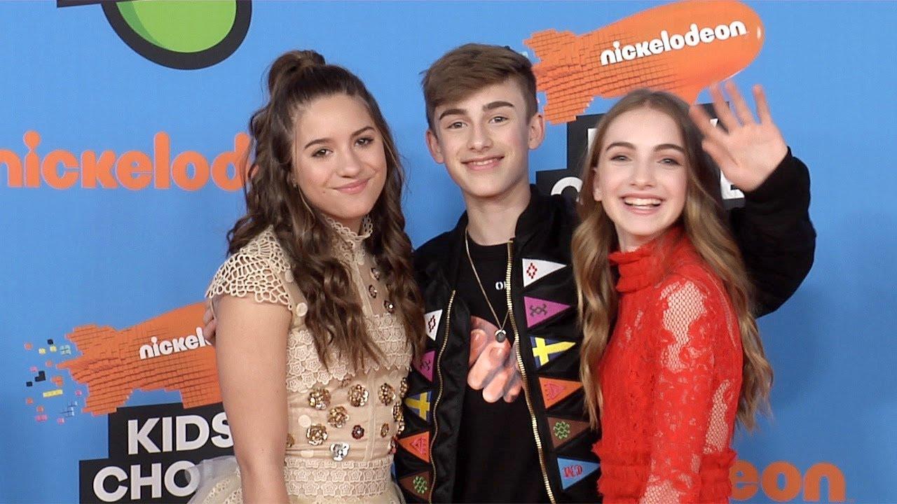Mackenzie Ziegler, Johnny & Lauren Orlando 2018 Kids