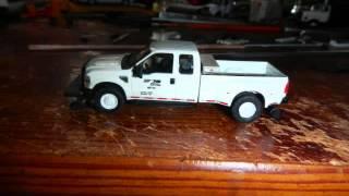 HO Norfolk Southern NS MOW Trucks