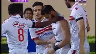 """شاهد..باسم مرسي يسجل هدفًا """"رائعًا"""" في مرمي المقاصة"""