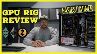 The EASIEST Mining Rig To Use EVER - MandaMiner ETH/ZEC Miner Review
