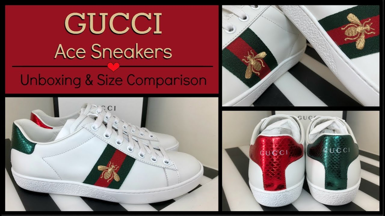 789d1bc0239 Gucci 2018 Ace Embroidered Bee Sneakers