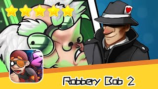 Robbery Bob 2 Secret Agent Suit Day14 Walkthrough Recommend index five stars
