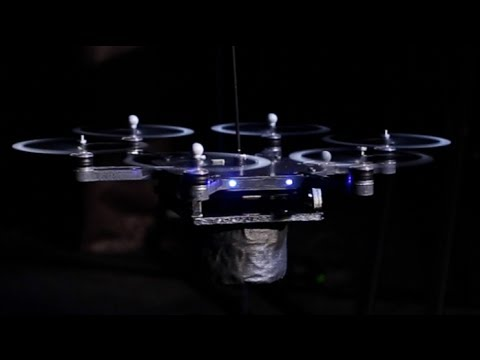 Flying Robot Rockstars