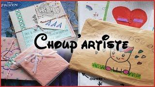 Choup'artiste - Deux courriers vraiment super mignons ♥