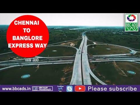 CHENNAI TO BANGALORE EXPRESS HIGHWAY FULL VIEW