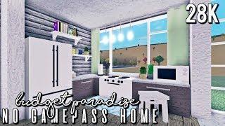 BLOXBURG| Budget Paradise (No Gamepass Home) 28k