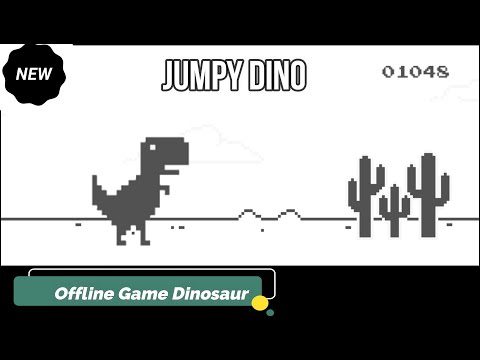 Dinosaur In Chrome Offline Game | There Is No Internet Connection You Play Google Game