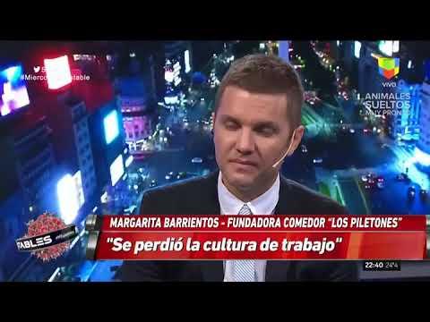 Margarita Barrientos en Intratables