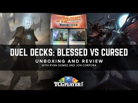 [MTG] Duel Decks: Blessed vs. Cursed - Unboxing and Review