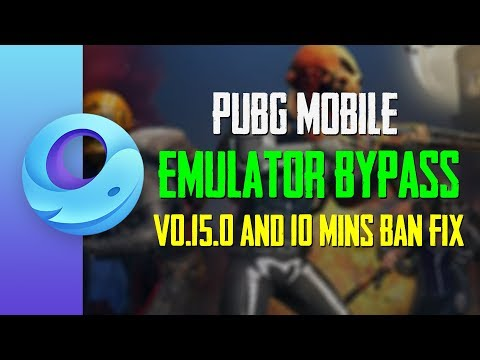 How to Bypass Emulator Detection of PUBG Mobile 0.15.0 With 10 Mins Ban Fix