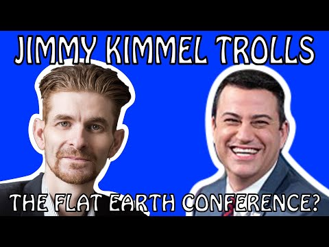 Did Jimmy Kimmel Troll The Flat Earth - Inside Information From Mark Sargent - FEIC 2019 thumbnail