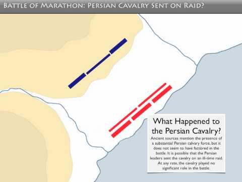 Battle of Marathon Schematic