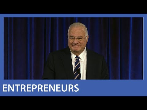 Joe Ricketts Introduces Ken Griffin for Financial Innovation Award, 2018 MoAF Gala