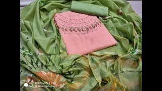 Beautiful Handwork Salwar Suits Design