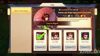 Dynasty Heroes - Shui Jing Class 5 (37 Questions)