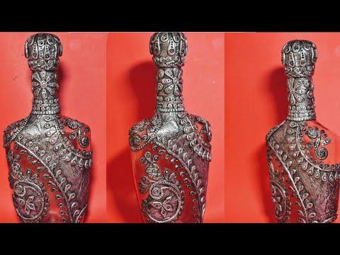 bottle-craft/bottle-art/how-to-decorate-bottle-/-antique-bottle-/altered-bottle-craft