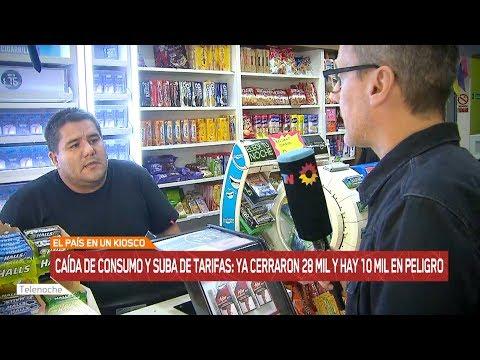 Argentina: Ya cerraron 28 mil kioskos y hay 10 mil en peligro