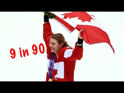9 Most Influential Female Hockey Players Of All-time ...in 90 Seconds