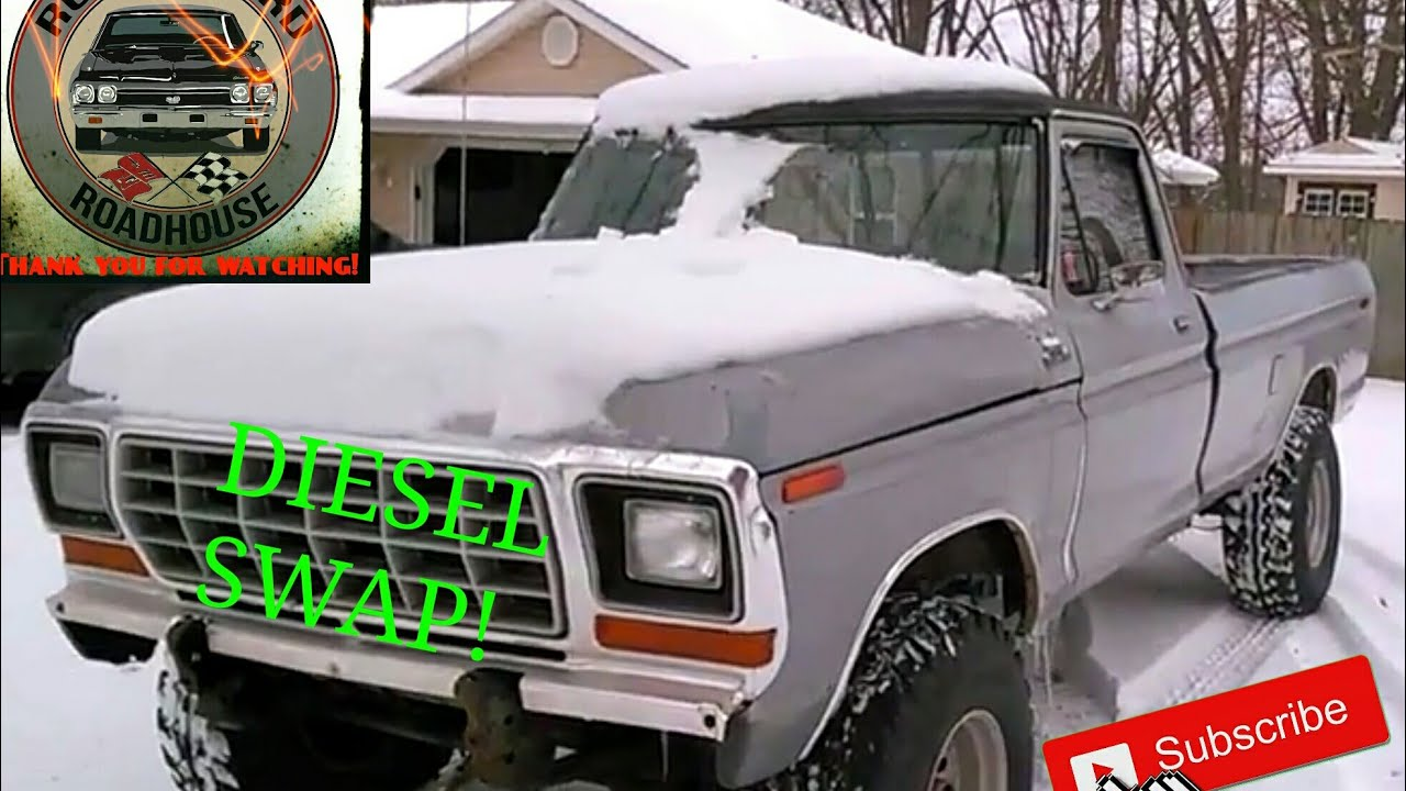 1979 Ford F250 7 3 Idi Diesel Running Walk Around Youtube