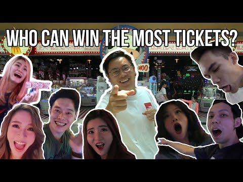 WHO CAN WIN THE MOST TICKETS? - Youtube Battles