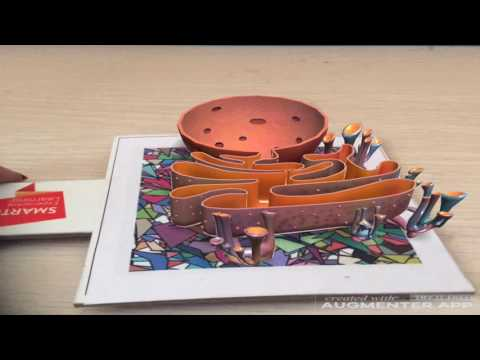 Endoplasmic Reticulum Virtual Reality Demo Video  Augmented Reality Demo