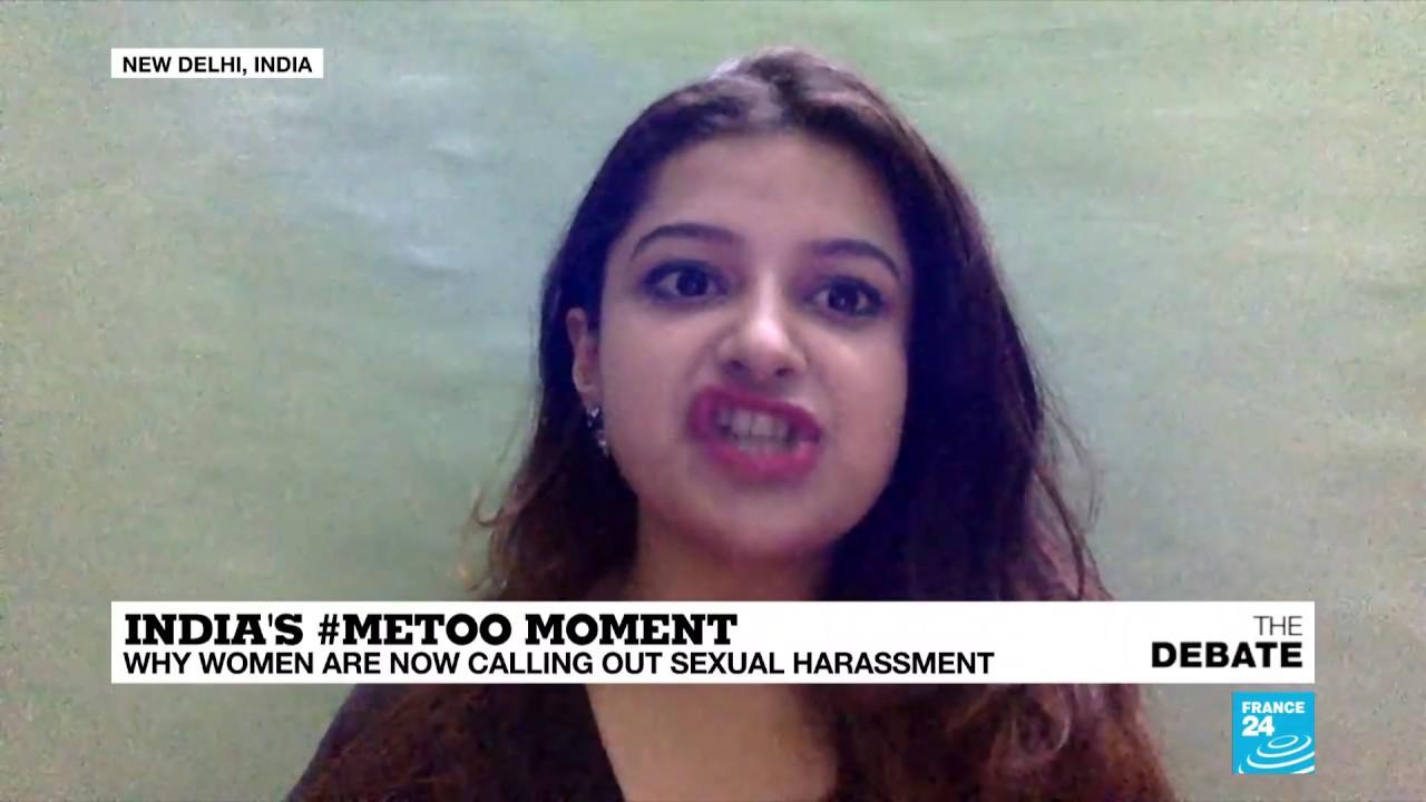 فرانس 24:India's #MeToo moment: Why women are now calling out sexual harassment