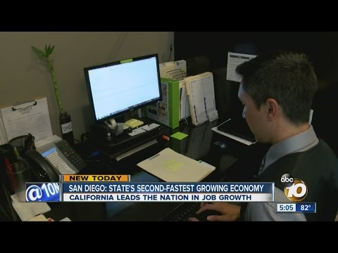 San Diego: State's second-fastest growing economy