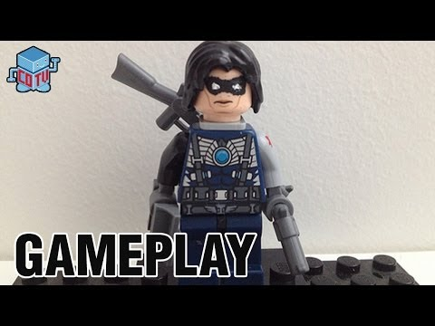 LEGO Marvel Captain America The Winter Soldier Ghost Rider Gameplay