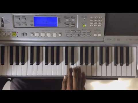 Nachange Saari Raat in keyboard