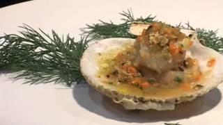 Итальянские блюда с рыбой и морепродуктами.