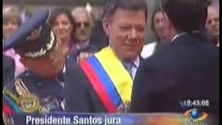 Asunción a la Presidencia de Colombia - Juan Manuel Santos (7/8/2010)