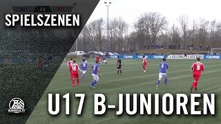 FC Schalke 04 - VfL Bochum (U17 B-Junioren, Bundesliga West) - Spielszenen | RUHRKICK.TV