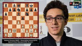 World Championship Challenger Fabiano Caruana's fabulous calculations!
