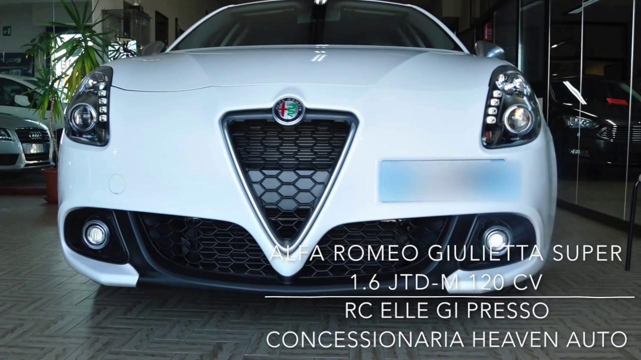 alfa romeo giulietta jtd m 120 cv super impressione auto presso concessionaria haven auto
