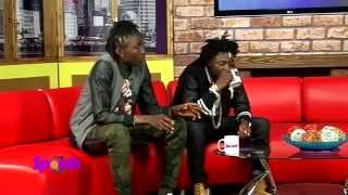 Aganaga Khalifa & Ziza Bafana - Exclusive On The Sporah Show