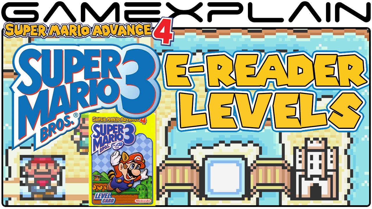 All 38 e-Reader Levels in Super Mario Advance 4  Super Mario Bros 3 - PLAYTHROUGH