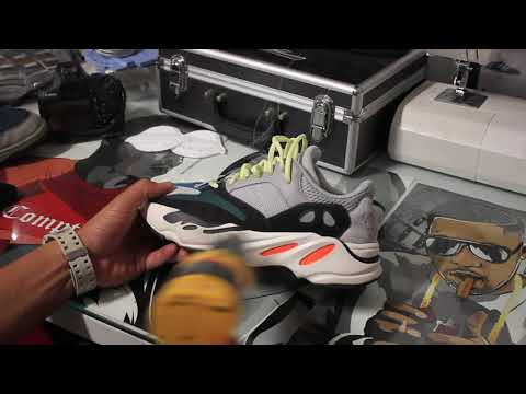 Yeezy 700 Boost WaveRunner De-Creasing and Cleaning Ron Lodevico
