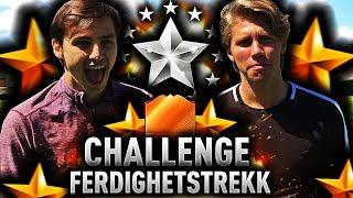 BESTEMMER VÅRE FERDIGHETSTREKK PÅ FIFA 18!! 🏆💫 RANDULLE MOT ELITESERIE PROFF!!