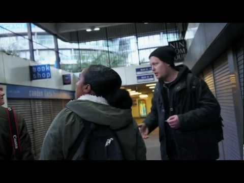 Unseen  - a documentary on homeless city walking tours in London