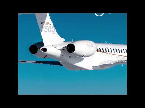 Bombardier 7500 and GE Aviation Engines and Digital