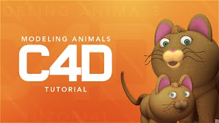C4D: Modeling Animals (Beginner) by Qehzy